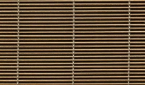 ribbed mesh (vergé) stainless steel/bronze